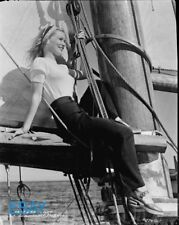 Veronica Lake on a boat VINTAGE 8x10 Negative