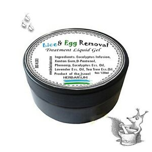 Lice & Egg Removal Treatment Liquid Gel 4 fl. oz.