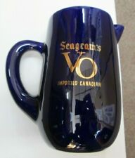 Vintage Seagram'S V O Vo Imported Canadian Whisky Ceramic Pitcher