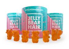 3x Jelly Bear Hair Haar Vitamin Gummibärchen für gesundes starkes dichtes Haar