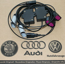 Audi Q7 adapter harness xenon facelift headlights LED Daytime Running Lights