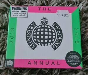 Ministry of Sound The Annual 2018 CD NEW