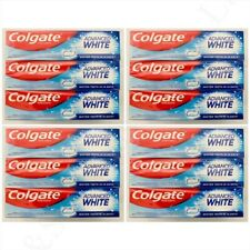 Colgate Advanced White Toothpaste 100ML Pack of 6 or 12 Free P&P