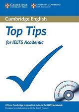 Top CONSEJOS PARA IELTS Académica Libro en Rústica Con CD-ROM Por Cambridge ESOL