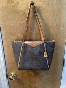 michael kors handbag used