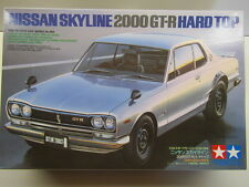Tamiya 1:24 Scale Nissan Skyline 2000 GT-R Hard Top Model Kit - New 24194*2000