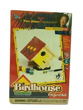 New listing Tim Allen Signature Stuff Birdhouse Project Kit Sealed Family Fun Ages 3 Years +