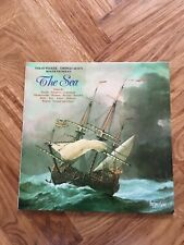 "The Sea Sarah Walker Thomas Allen Roger Vignoles 12"" Vinyl LP A66165 Free UK P&P"
