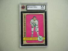 1972/73 TOPPS NHL HOCKEY CARD #39 DANNY GRANT KSA 8.5 NMMT+ SHARP!! 72/73 TOPPS
