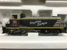 Broadway Limited Imports HO #656 Paragon DC/Sound EMD SW7 Phase II CB&Q #9263