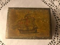 "Florentia Made In Italy- Decorative Craft Box Columbus ""Santa Maria"" 1492"