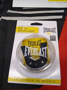 Everlast Double Mouth Guard (Black)