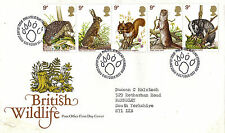 5 OCTOBER 1977 BRITISH WILDLIFE POST OFFICE FIRST DAY COVER BUREAU SHS