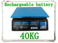 40K Electronic Price Computing Digital Platform Scale Weight Rechargeble Battery