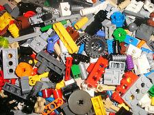 LEGO TECHNIC 50 SMALL PIECES RANDOM MIX RODS,CONNECTORS,PINS,WHEELS,GEARS,COGS