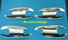 4 Chrome Stainless Outer Door Handle Shells 2006-2013 Mercedes Benz W221 S-Class