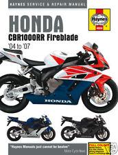 Haynes Honda CBR1000RR CBR1000 Fireblade 04-07 Manuel
