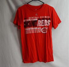 Cincinnati Reds National League MLB Baseball T Shirt Majestic Size SMALL S