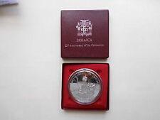 Jamaika Elisabeth II. 25. Thronjubiläum 25 Dollar Silber PP 1978  #AG001