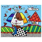 """Britto """"To Jenna & Nicks Home"""" Hand Signed Limited Edition Canvas Authenticated"""
