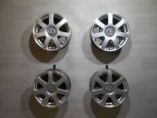 4x VW Golf IV orig. Alufelgen 6.5x16 ET42 5x100 Brands Hatch 1J0601025L Bora