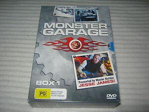 Monster Garage - Box 1 - 3 Disc - VGC - R4 - DVD