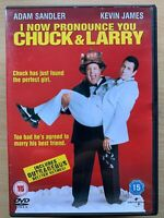 I Now Pronounce You Chuck And Larry DVD Gay Fireman Comedy w/ Adam Sandler