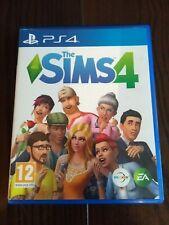 Los Sims 4 juego PS4 * disco en perfecto estado * * P & P * Sony PlayStation 4