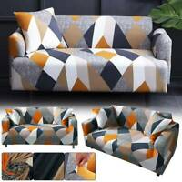 2/3 Seater Elastic Sofa Covers Slipcover Settee Stretch Couch Protector