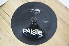 "Paiste Colorsound 5 20"" china Cymbal excellent-used china for sale"