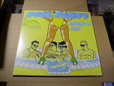 LP:  POOL PARTY - Number One   NEW UNPLAYED YELLOW BLUE SPLATTER VINYL