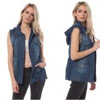 Women's Lightweight Solid Utility Anorak Hoodie Jacket