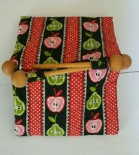 """Handmade Fabric Casserole Warmer Carrier for 10.5""""x11"""" Dish +2 Oven mitts A1-16"""