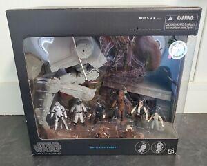 Star Wars The Black Series Toys R Us Exclusive Battle on Endor playset- NIB