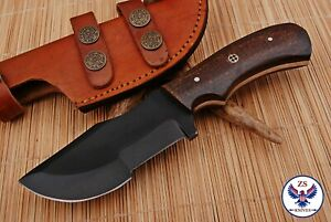 TRACKER 1095 CARBON STEEL TRACKER HUNTING KNIFE WITH MICARTA HANDLE - ZS 84