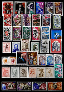 MONACO: 1960'S STAMP COLLECTION UNUSED MOSTLY SETS