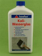 Baufan Kaliwasserglas Kali-Wasserglas Grundierung Verfestigung Verkieselung 1 L