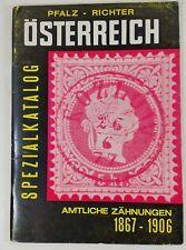 Pfalz - Richter Osterreich Spezialkatalog, Austria, 1969