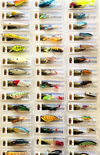 5-25 Set Assorted Bass Trout Walleye Pike Crankbait Fishing Minnow Lures Hooks