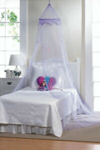 MAGICAL PURPLE BED CANOPY by ascent plus for the little queen