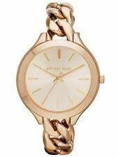 Horloge Femme Michael Kors MK3223 Poignet Sangle Acier Rose D'Or Analogique