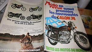 MOTO REVUE N°2186 SALON 74- toutes les motos du monde