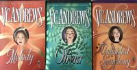 LOGAN family lot (3) KEYHOLE editions series VC Andrews V.C.