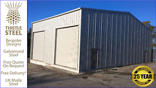 Steel Buildings Bespoke Prefab Double Garage