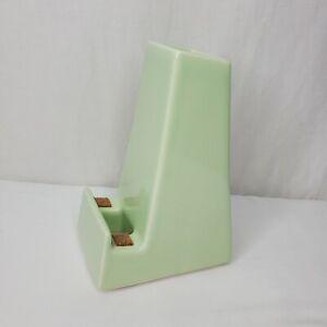 "Stak Mint Green Ceramic Vase Phone Charging Dock Holder 6.25"" Tall"