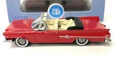 1:87 Chrysler 300 '61 Convertible - Red - Oxford Diecast #87CC61001 - NEW