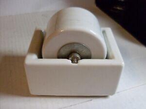 Vintage Sengbusch Porcelain Moistener Stamp & Envelope Roller Wheel Milwaukee