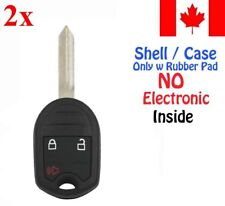 2x New Replacement Keyless Entry Remote Key Fob Case For Ford Mazda - Shell