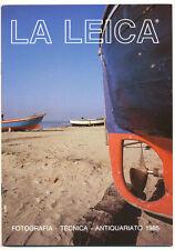 """G.Rogliatti """"La Leica"""" famosa rivista trimestrale 1985  E503"""