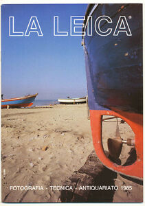 """G.Rogliatti """"La Leica"""" famosa rivista trimestrale 1985  E503  BIS"""